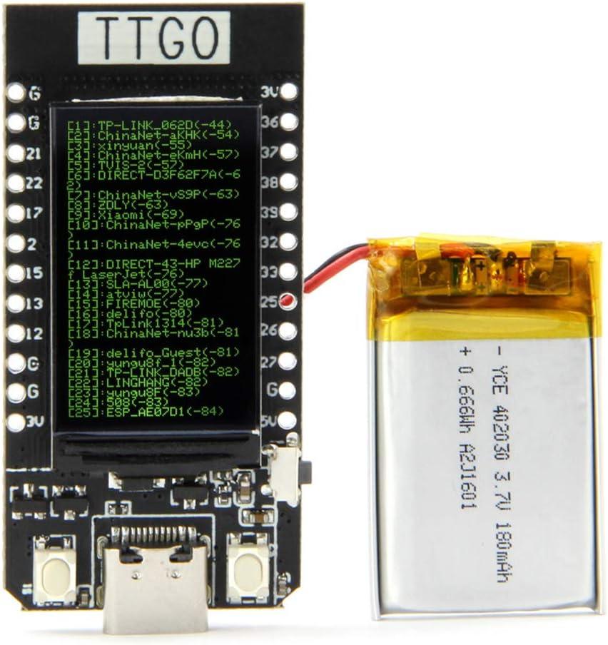 TTGO T-Display ESP32 WiFi and Bluetooth Module Development Board for Arduino 1.14 Inch LCD esp32 Control Board