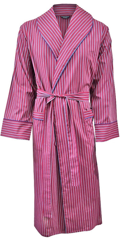 Robe De Chambre L G Re 100 Coton Ray Rouge Bleu Blanc