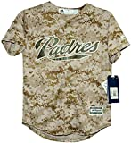 San Diego Padres USMC Camo Cool Base Youth Jerseys
