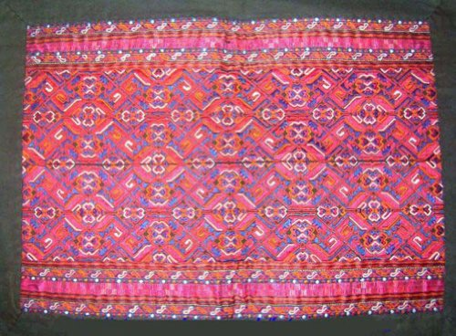 Antique Embroidery Textile Art Miao Hmong Costume #139 by Interact China