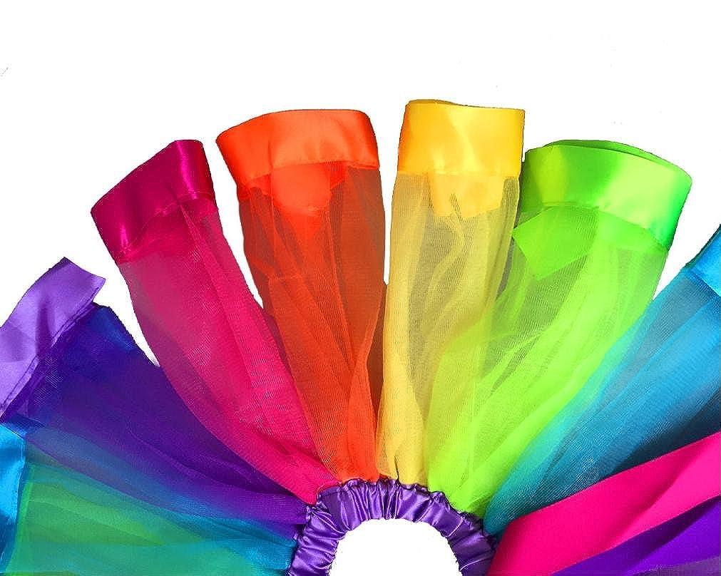 Conjunto de Bebé, ❤️Xinantime Niñas Niños Petticoat Rainbow Pettiskirt Vestido de tutú de la falda del bowknot Dancewear 1-9 años: Amazon.es: Ropa y ...