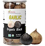 Soulmate Organic Black Garlic 250g Whole Black Garlic Aged for full Fermented 90 Days, NON-GMO Made in California, High…