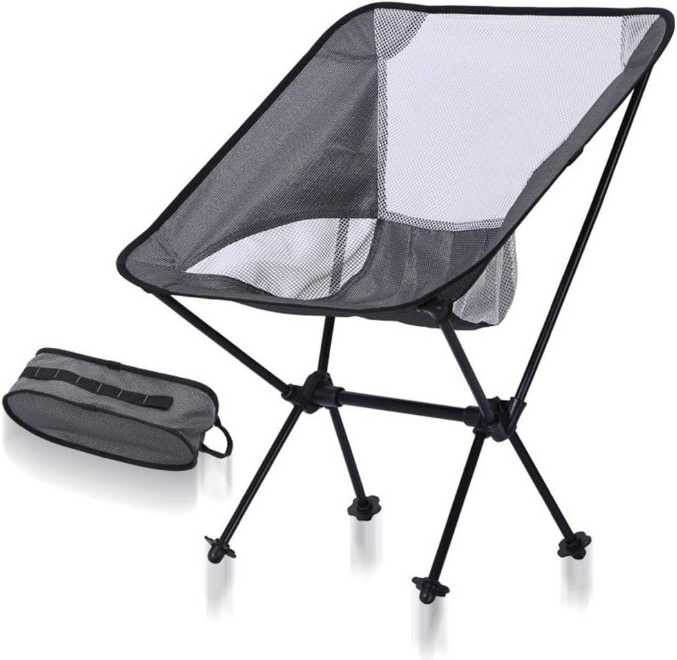 K-Y Acampar Al Aire Libre Que Acampa Silla De Aluminio Taburete De Pesca Que Acampa Ocio Silla De Playa: Amazon.es: Hogar