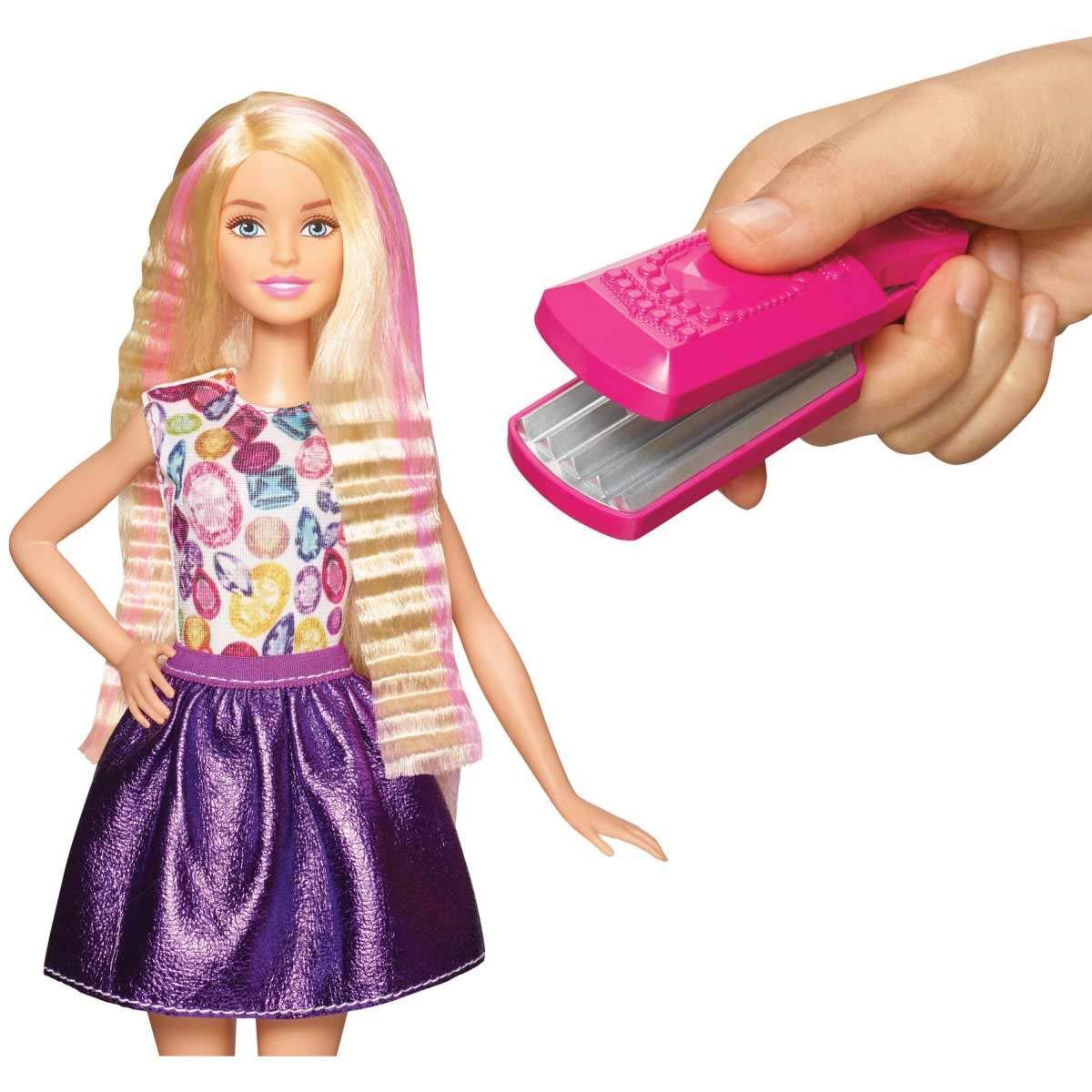 Blonde Barbie D.I.Y Crimps /& Curls Doll