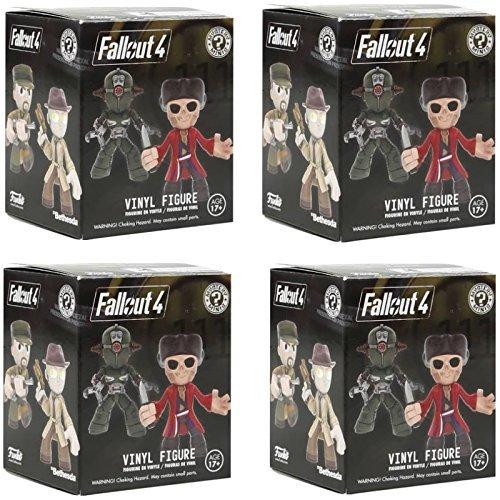 Funko Fallout 4 Mystery pop mini figure Set of 4