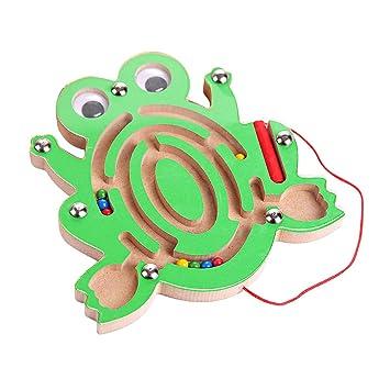 économiser jusqu'à 80% qualité supérieure aspect esthétique TOYANDONA Labyrinthe Magnétique Jouet Magnétique Puzzle ...