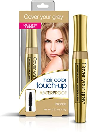 Cover Your Gray Waterproof Brush-in Wand - Light Brown/Blonde