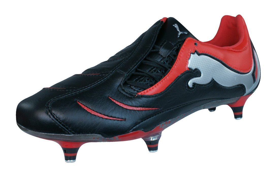 Puma PowerCat 1.10 SG Mens Leather Soccer Boots / Cleats B00406093S 12 D(M) US|Black