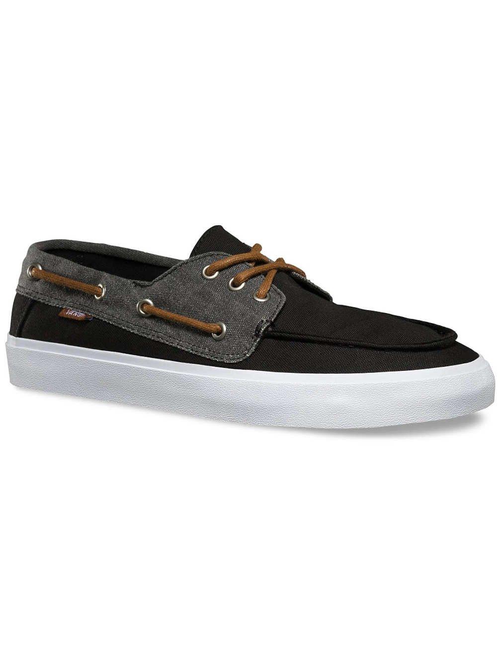 Galleon - Vans Chauffeur SF (Washed Black True White) Men s Skate Shoes-11.5 70fc361c4