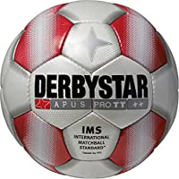 Derbystar Fußball Apus Pro TT, Weiß/Rot, 5, 1713500131