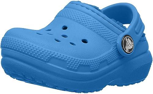 Amazon.com: Crocs - Zuecos clásicos con forro para niños ...