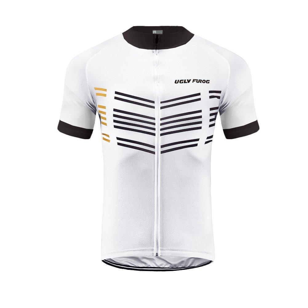 Uglyfrog Radtrikot Kurzarm Herren Mode Sport & Freizeit MTB Fahrradbekleidung Radsport Hemd Polyester Gemütlich DXMZ01