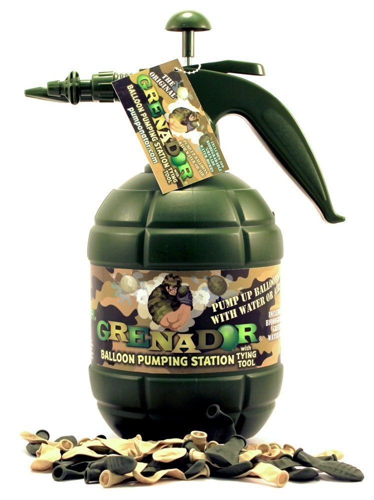 PUMPONATOR GREN Balloon Pumping Station, Camo 857727002110