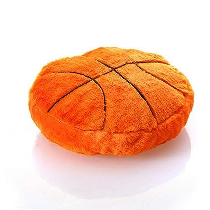 Amazon.com: total-shop Ball Shaped Pillow Fluffy Stuffed ...