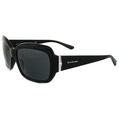 Amazon.com: anteojos de sol Bvlgari BV 8052B 501/87 Negro: Shoes