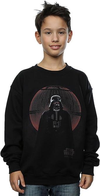 Star Wars niños Rogue One Vader Death Star Glow Camisa de ...