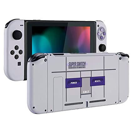 [Update Version] DIY Replacement Housing Shell Case Set for Switch NS NX  Console and Right Left Switch Joy-Con Controller Without Electronics