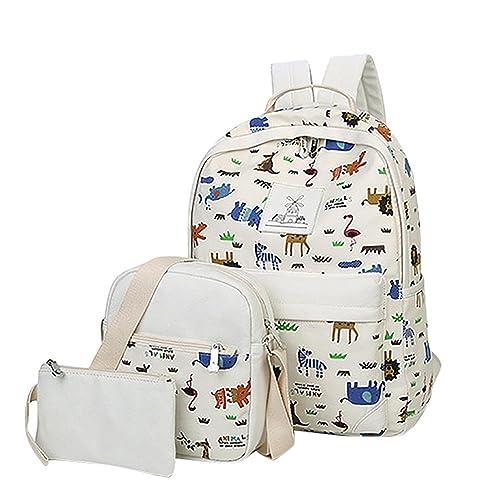 MingTai mochilas para chicas oferta mochilas cartera escolar Bolsos de las mujeres bookbags cartera del bolso La 3pcs: Amazon.es: Zapatos y complementos