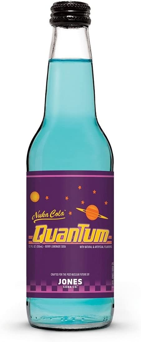 Nuka Cola Quantum from Fallout Jones Soda | 1 Bottle