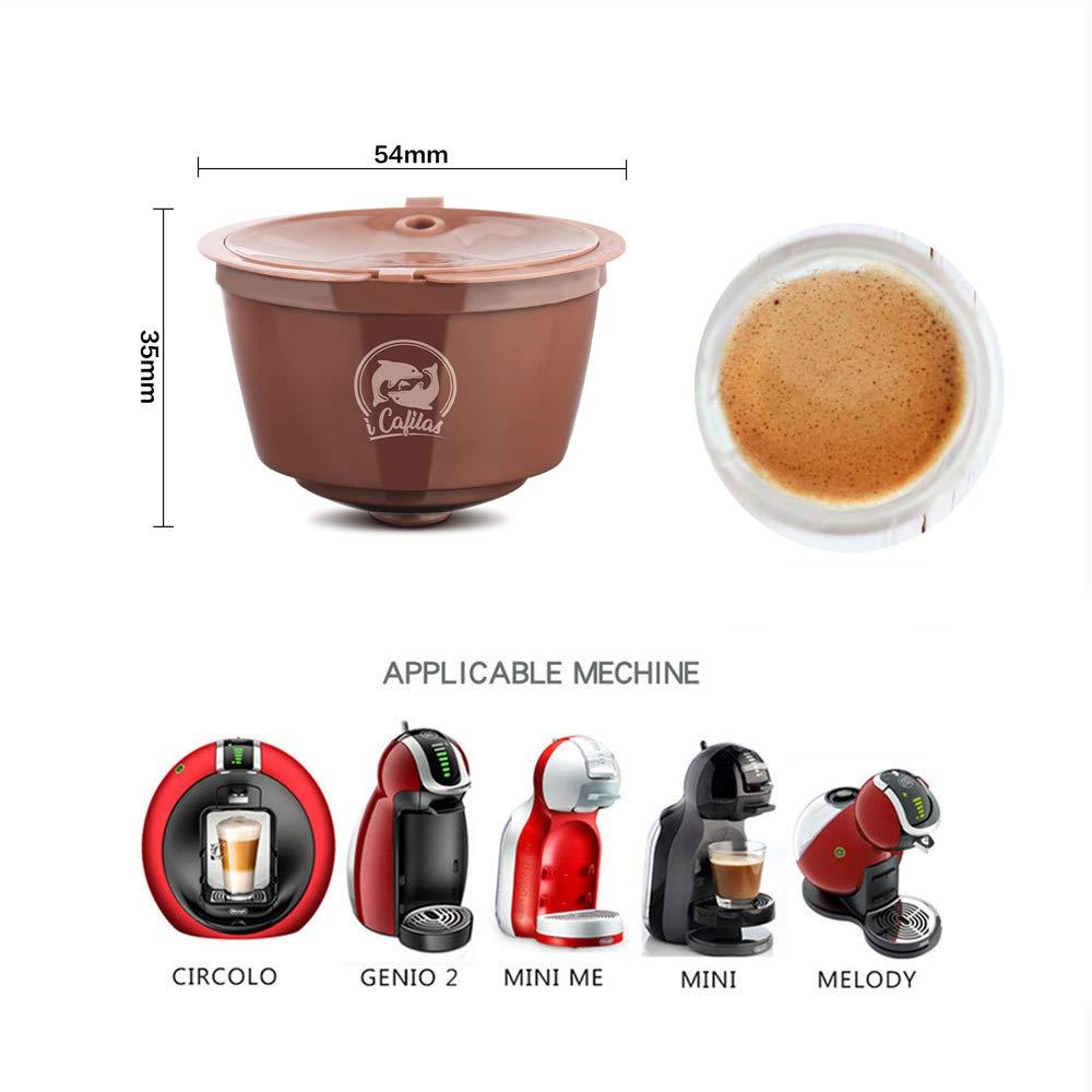 Amazon.com: i Cafilas Dolce Gusto - Cápsulas de café ...