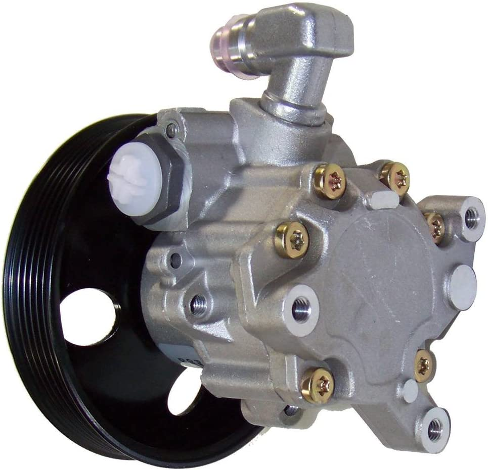 Mercedes Benz ML55 5.5L SOHC No Core Needed Brand new DNJ Power Steering Pump w//Pulley PSP1048 for 98-03