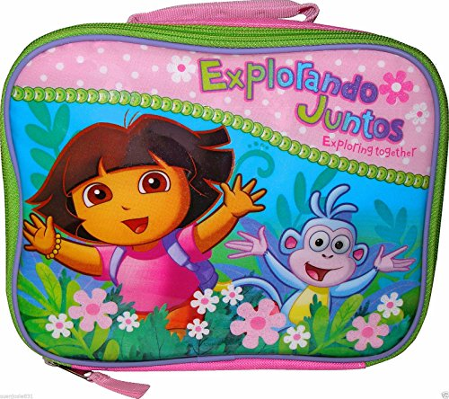 Nickelodeon Dora The Explorer & Boots Soft Lunch Box Insulated Bag Lunchbox