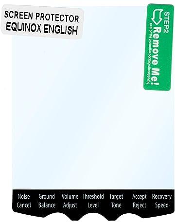 Minelab Equinox - Protector de Pantalla (5 Unidades)