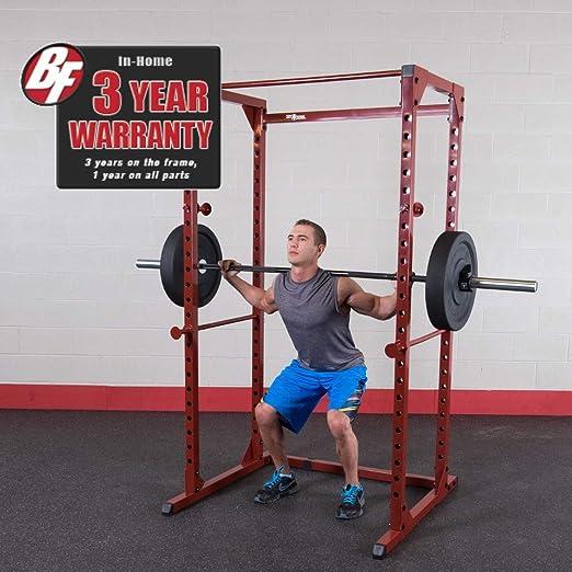 Amazon.com : body solid best fitness power rack bfpr100 : sports