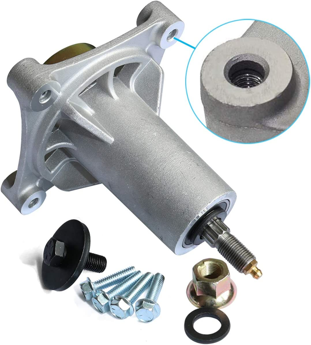 KOOTANS Mower Spindle Assembly for AYP 187292 192870, for Husqvarna 587820301 532192870 532187292 532187281 539112057 587125401 Ariens 21546238, for Stens 285-585 6500810, Rotary 11590