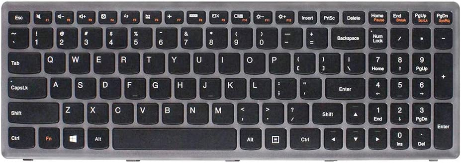 Replacement Non-Backlit Keyboard for Lenovo IdeaPad P500 Z500 Z500A Z500G