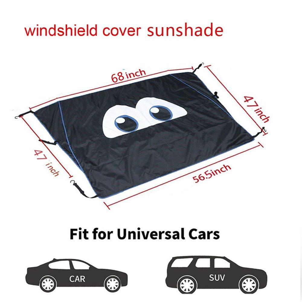 cartaoo Sunshade Mesh UV Protection Bikini Top Cover Net 2007-2017 Jeep Wrangler JK JKU 2-Door 4-Door