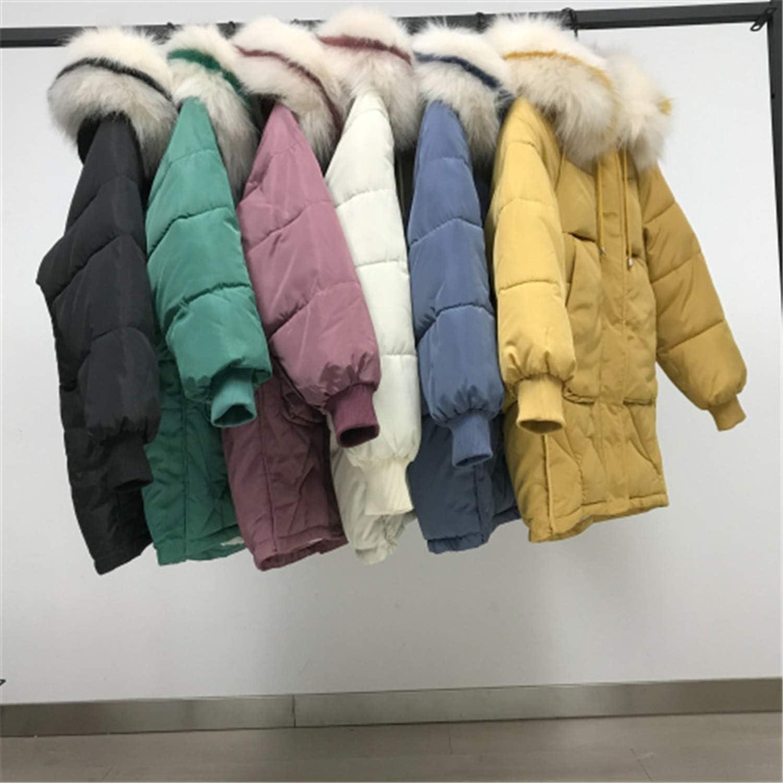 Sconosciuto Giacca Parka Inverno Imbottito Cappotto 2019 Nuovo con Cappuccio Cerniera Donna Caldo Cotone Inverno Imbottito Cappotto Verde