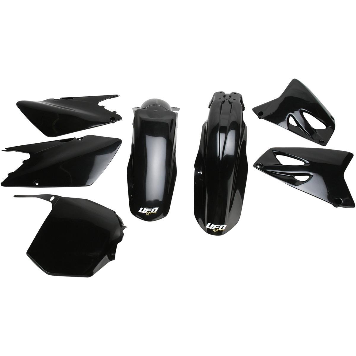 UFO SUKIT402 001 Complete Body Kit BODY KIT RM125 250 03 6 BLACK