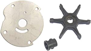Water Pump Impeller Repair Kit for Johnson Evinrude 5.5 6 7.5 Hp 1952-1978 (Read Product Description for Exact Application) Replaces 18-3202 277181