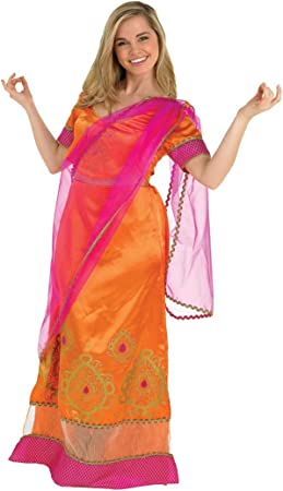 Rubbies - Disfraz de bollywood adultos, talla UK 8-10 (889514S ...