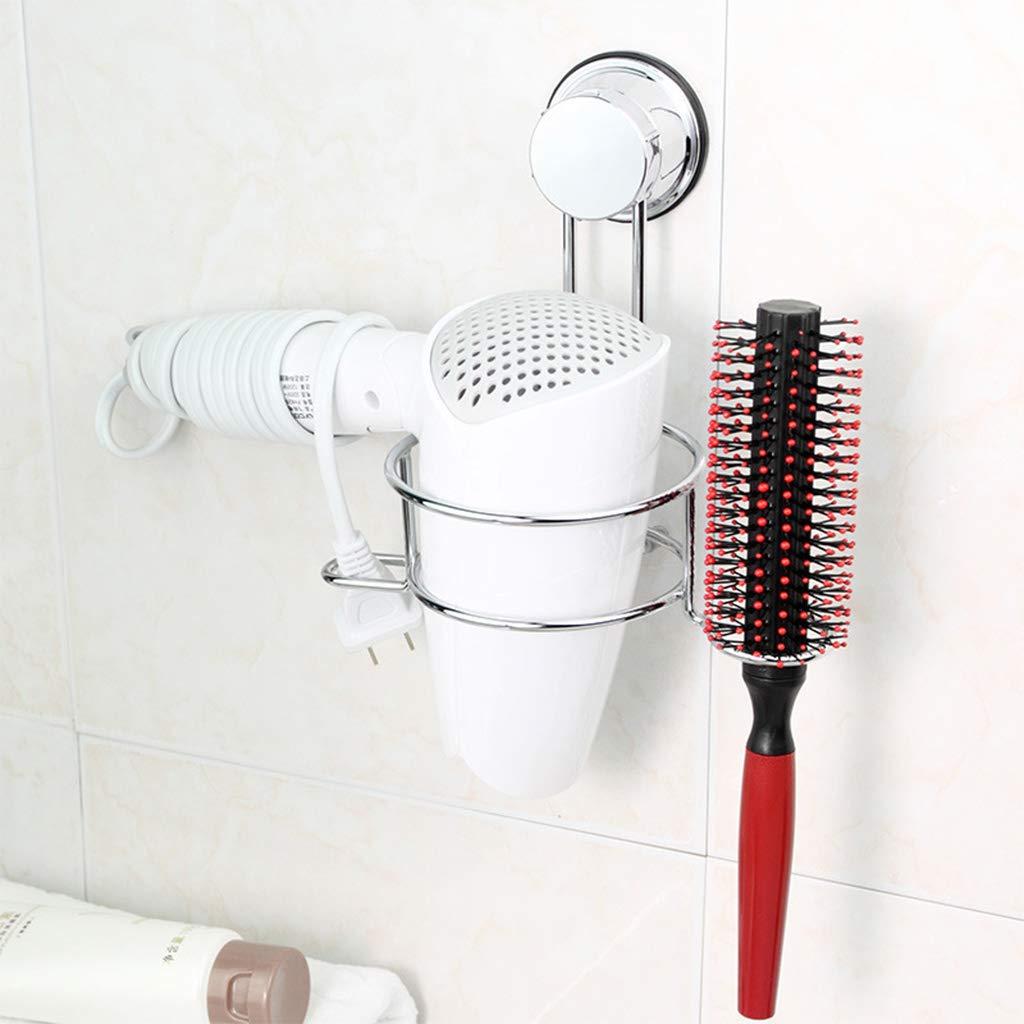 HR-COME-COME Non forare Porta-phon Portaoggetti Portabicchieri Ventosa Organizzatore Adesivo Porta Asciugamani per mensola Bagno