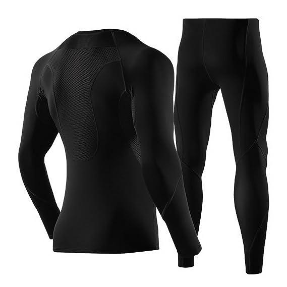 Amazon.com: wxinmei hombre deportes compresión pantalones ...
