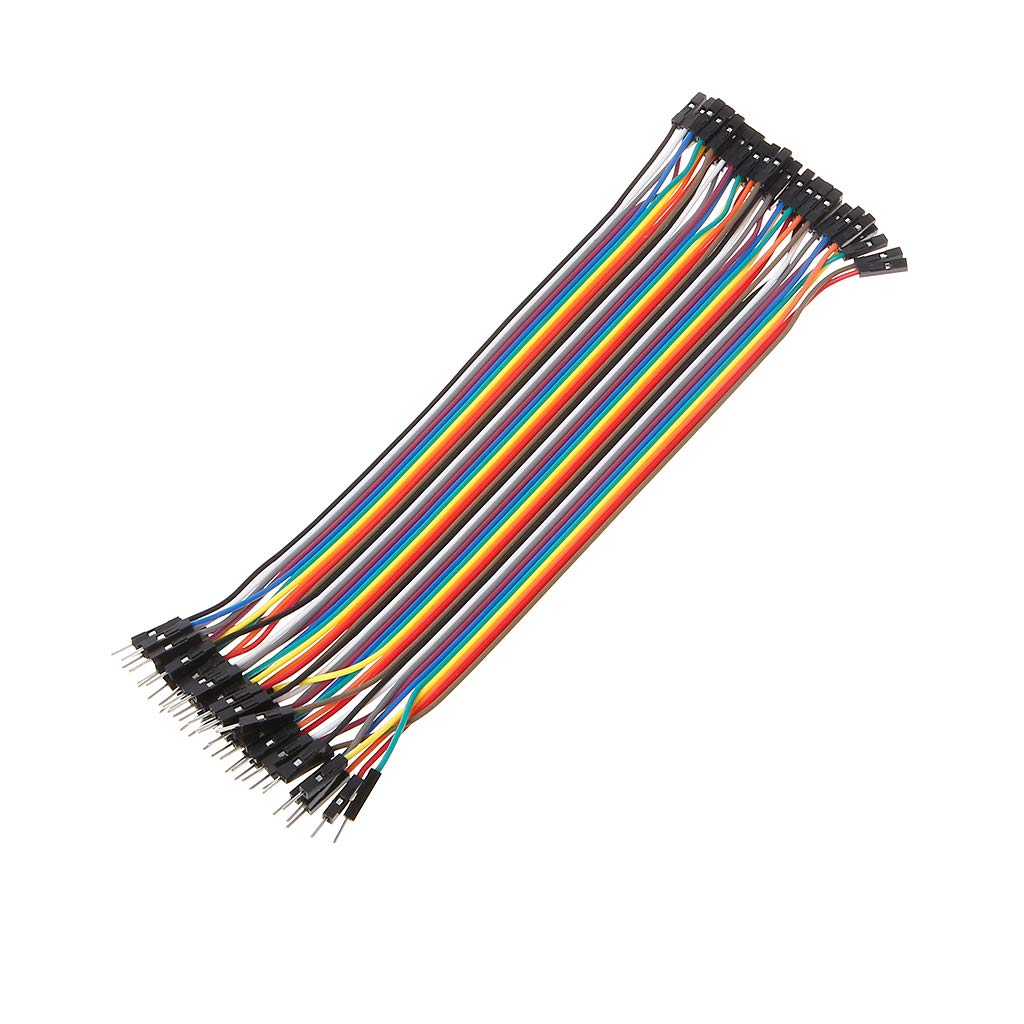 JENOR 40Pin Dupont Cable Jumper Wire Rope 2.54mm Male to Female Cable For ARDUINO 10//20//30 CM