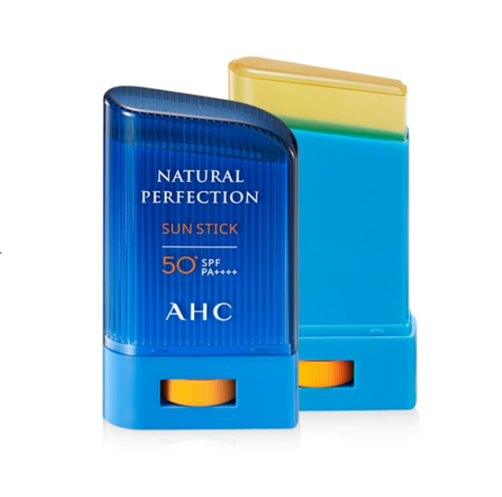 AHC Natural Perfection Sun Stick 22g SPF50+ PA++++ Made in Korea Cosmetic by Junyshop