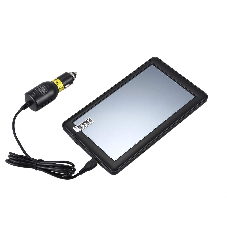 Semoic Sistema De Navegacion GPS Q9, 7 Pulgadas 8GB 256MB Navegador por Satelite: Amazon.es: Coche y moto