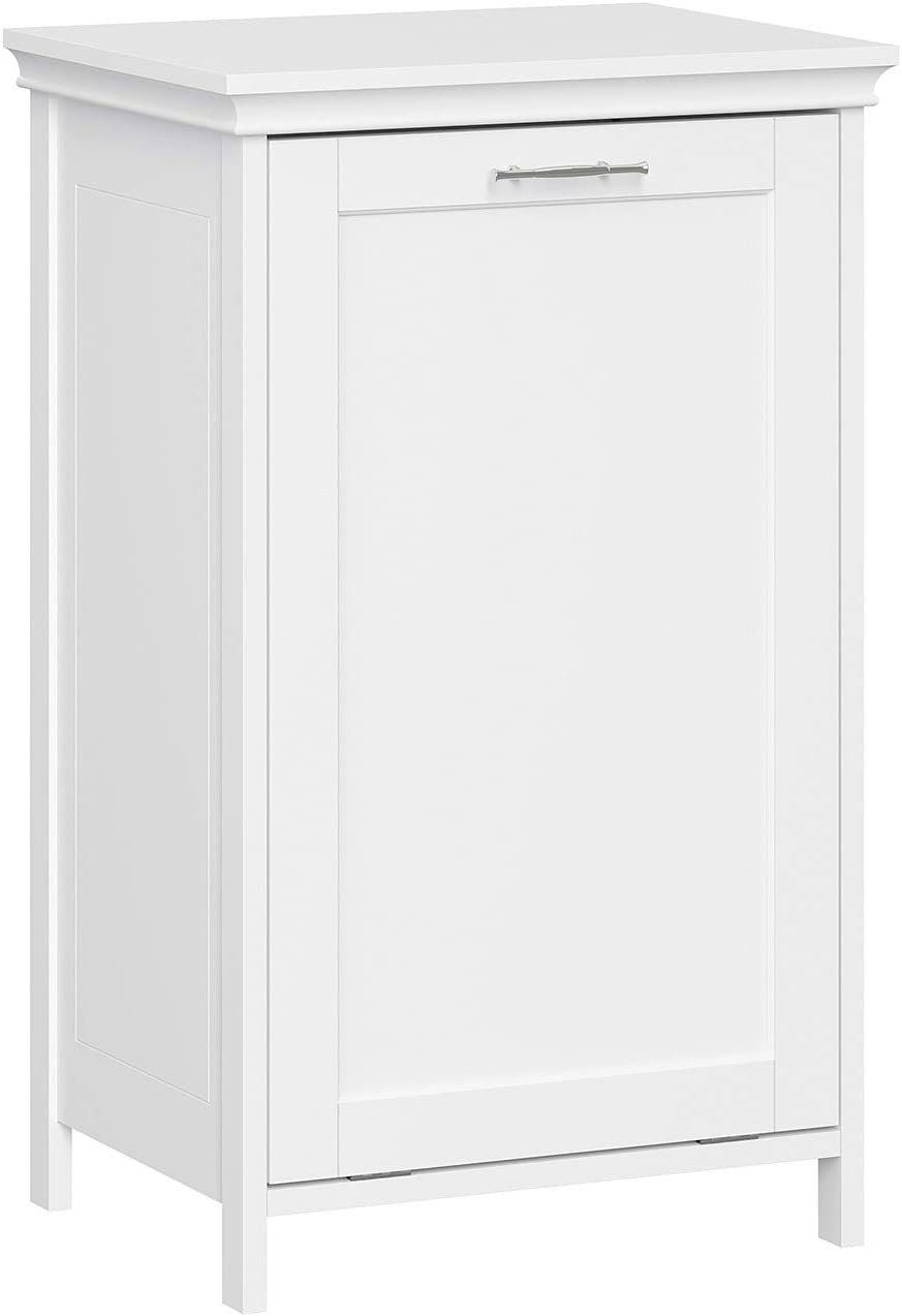 RiverRidge Home Somerset Tilt-Out Laundry Hamper, White