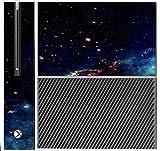 Sticker Skin Print Smoke Fire Asteroid Dark Space Vape Printed Design Xbox One Console Vinyl Decal Sticker Skin by Smarter Designs