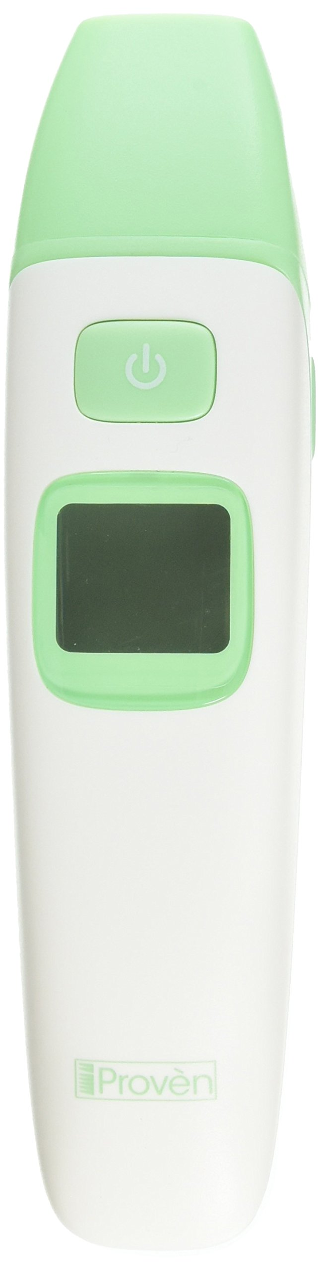 Baby Forehead and Ear Thermometer - iProvèn Triple Mode Thermometer TMT-215 - With Object Mode - Easy to use for your Newborn - Quick Read and No Touch - With Fever Warning and Mute Function