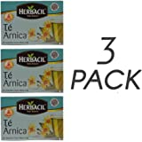 HERBACIL ARNICA TEA 25-BAGS 0.88 OZ (3)
