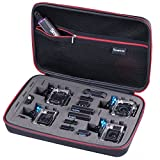 [Case for Gopro Hero 7/6/5/4/3+/3/2/1] Smatree Smacase G360 Carrying Travelling Storage Bag ,Camera and Accessories are NOT included