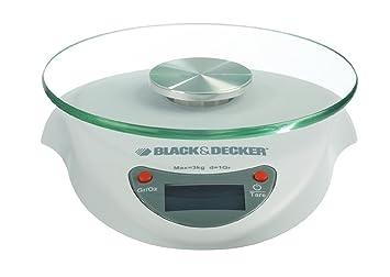black+decker sk2020-xj bilancia da cucina elettronica: amazon.it ... - Bilancia Da Cucina Elettronica