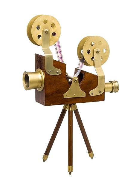 aubaho Cine decoración Estilo de la Nostalgia del proyector de ...