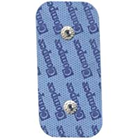 Electrodes Compex Dura-Stick Plus - 2 snaps rectangulaire - 50x100mm (x2)