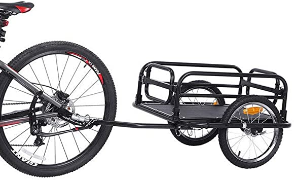 HJTLK 16 Pulgadas Plegable Bicicleta Remolque de Carga vagón de ...