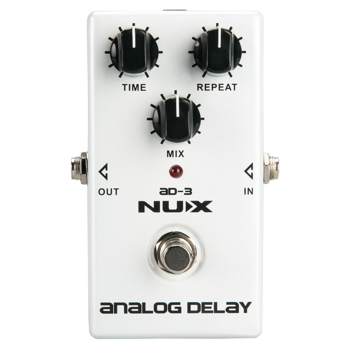 NUX AD-3 Analog Delay Guitar Pedal Low Noise BBD in Delay Circuit Warm Natural Delay Effect